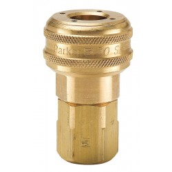 Parker Hannifin - B37G - Brass Industrial Coupler Body