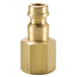 Parker Hannifin - HF-124-4FP - Brass Industrial Coupler Plug
