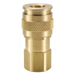 Parker Hannifin - UC-251-4FP - Brass Industrial Coupler Body