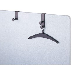 Quartet (Acco) - 20702 - Over-the-Panel Garment Hook, Double Post
