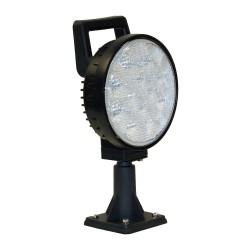 Buyers - 1492120 - Lamp, LED, Round, Flood, Aluminum