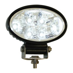 Buyers - 1492113 - Lamp, LED, Oval, Flood, Aluminum