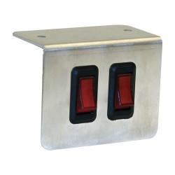 Buyers - 6391002 - Switch Panel, Aluminum