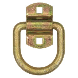 Buyers - B38ZY - D-Ring, 1/2 In, 11, 781 lb