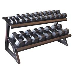 ProMaxima - FW-234 - 59 x 28-5/32 x 30 Tier Hex Dumbbell Rack