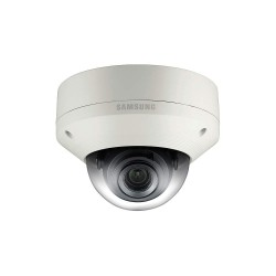 Samsung - SNV-6084 - Hanwha Techwin WiseNetIII SNV-6084 2.4 Megapixel Network Camera - Color, Monochrome - Board Mount - 1920 x 1080 - 2.8x Optical - Exmor CMOS - Cable - Fast Ethernet - Dome