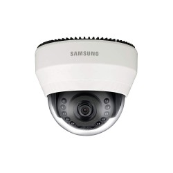 Samsung - SND-6011R - Hanwha Techwin WiseNetIII SND-6011R 2.4 Megapixel Network Camera - Color, Monochrome - Board Mount - 1920 x 1080 - Exmor CMOS - Cable - Fast Ethernet - Dome