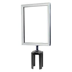 Tensator - FRAME-HDSC-1P-0711HD-V - Sign Frame, 11 x 7 In, Polished Chrome