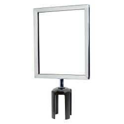 Tensator - FRAME-HDSC-1P-8511HD-V - Sign Frame, 11 x 8-1/2 In, Polished Chrome