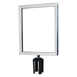 Tensator - FRAME-HDSC-1P-1114HD-V - Sign Frame, 14 x 11 In, Polished Chrome