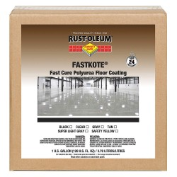 Rust-Oleum - 277495 - Fastkote Polyurea Floorcoating Gray