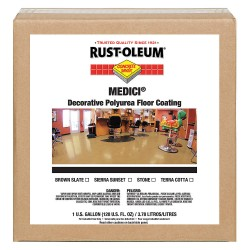 Rust-Oleum - 280950 - High Gloss Floor Coating, Stone, 1 gal.