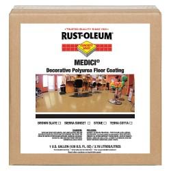 Rust-Oleum - 280938 - High Gloss Floor Coating, Sierra Sunset, 1 gal.