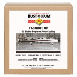Rust-Oleum - 280971 - High Gloss Floor Coating, Black, 1 gal.
