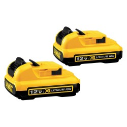 Dewalt - DCB127-2 - DeWALT DCB127-2 12V MAX Premium XR 2.0Ah Lithium Ion Battery Pack (2-Pack)
