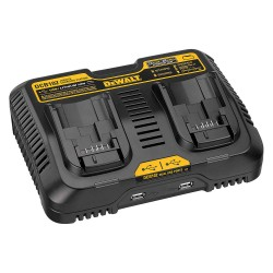 Dewalt - DCB102 - Dewalt DCB102 Battery Charger - 120 V AC, 12 V DC Input - 5 V DC Output - Input connectors: USB - 2 - Proprietary Battery Size