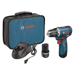 Bosch - PS32-02 - 12V Brushless Li-Ion 3/8 Cordless Drill/Driver Kit, Battery Included