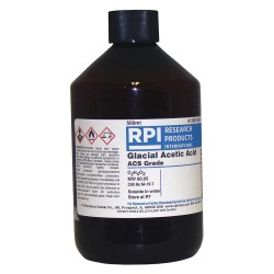 RPI - A12825-500.0 - Acetic Acid, Glacial, 500mL