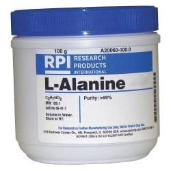 RPI - A20060-100.0 - L-Alanine, USP Grade, 100g