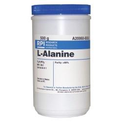 RPI - A20060-500.0 - L-Alanine, USP Grade, 500g
