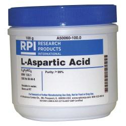 RPI - A50060-100.0 - L-Aspartic Acid, 100g
