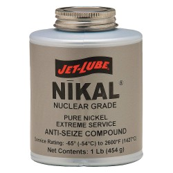 Jet-Lube - 13502 - Anti Seize Compound, 8 oz. Container Size, 4 oz. Net Weight