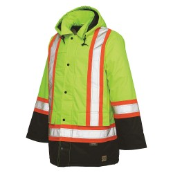 Richlu - S17611 - High Visibility Jacket, S, Yellow/Green