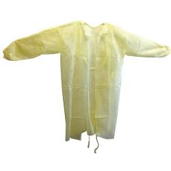 HCS - HCS3004 - Gown, Yellow, 45inLx57-1/2inW, PK50