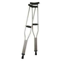 HCS - HCS6001A - Crutches for Adult with 62 to 70 Height Range and 300 lb. Weight Capacity