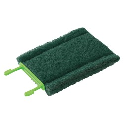 Scotch-Brite - 902 - 5-1/2 x 3 Synthetic Fibers, Non-Abrasive Particles, Resin Cleaning Pad, Green, 6PK