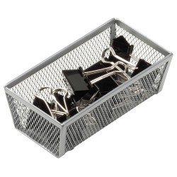 Honey-can-do - KCH-02158 - 1-Compartment Cutlery Tray, 6 L x 3 W x 2 H, Steel