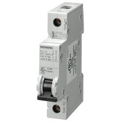 Siemens - 5SJ41067HG40 - Miniature Circuit Breaker, 6 Amps, C Curve Type, Number of Poles: 1