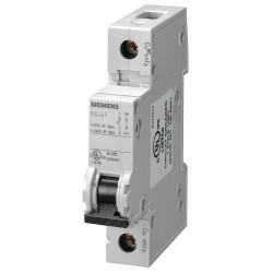 Siemens - 5SJ41018HG40 - Miniature Circuit Breaker, 1 Amps, D Curve Type, Number of Poles: 1
