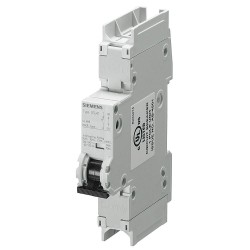 Siemens - 5SJ41037HG41 - Miniature Circuit Breaker, 3 Amps, C Curve Type, Number of Poles: 1