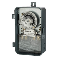 NSi Industries - 1101B-P - Electromechanical Timer, 120VAC Voltage, 40 Amps, Max. Time Setting: 22 hr. 45 min.