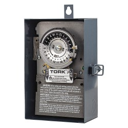 NSi Industries - 1104B-O - Electromechanical Timer, 208 to 277VAC Voltage, 40 Amps, Max. Time Setting: 22 hr. 45 min.
