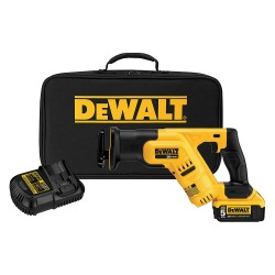 Dewalt - DCS387P1 - Cordless Reciprocating Saw Kit, 20.0 Voltage, Pivoting Adjustable Shoe Design, Battery Included