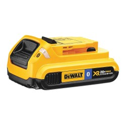 Dewalt - DCB203BT - DeWALT DCB203BT 20V MAX 2 Ah Lithium-Ion Bluetooth Compact Battery Pack