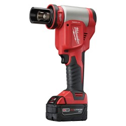 Milwaukee Electric Tool - 2676-23 - Milwaukee 2676-23 M18 18V 10 Ton Knockout Tool 1/2 To 4 w/ Batteries