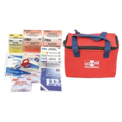 PhysiciansCare - 7092 - First Aid Kit, Red, 1 EA
