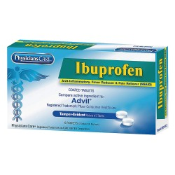 PhysiciansCare - 20-512 - Ibuprofen, Tablet, 6 x 2 Count, 1 EA