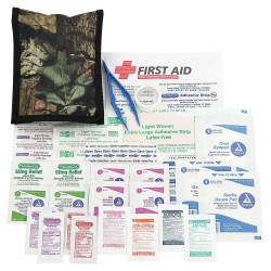 PhysiciansCare - 90456 - First Aid Kit, Kit, Fabric Case Material, Outdoors, 25 People Served Per Kit