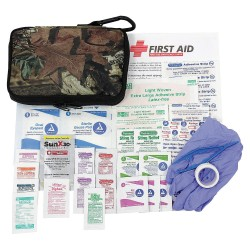 PhysiciansCare - 90457 - First Aid Kit, Kit, Fabric Case Material, Outdoors, 25 People Served Per Kit