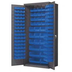 Akro-Mils / Myers Industries - AC3624B - Bin Cabinet, 78 Overall Height, 36 Overall Width, Total Number of Bins 138