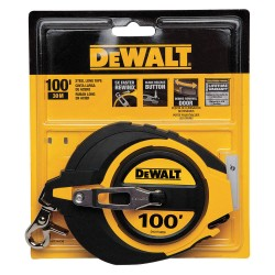 Dewalt - DWHT34036 - 100 ft. Steel SAE Tape Measure, Yellow