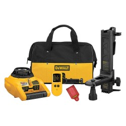 Dewalt - DW074KD - Electronic Self-Leveling Rotary Laser Level, Horizontal and Vertical, Interior and Exterior