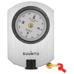 Suunto - SS020418000 - 3-1/32 x 2-1/2 x 19/32 Anodized Aluminum Optical Sighting Compass