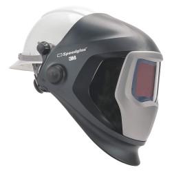 3M - 06-0100-30HHSW - 9100 Series, Auto-Darkening Welding Helmet, 5, 8 to 13 Lens Shade, 4.20 x 2.80 Viewing AreaBlack