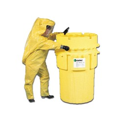 Enpac - 1180-YE - 180 gal. Yellow Polyethylene Open Head Salvage Drum