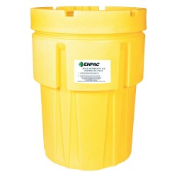 Enpac - 1040-YE - 103 gal. Yellow Polyethylene Open Head Salvage Drum
